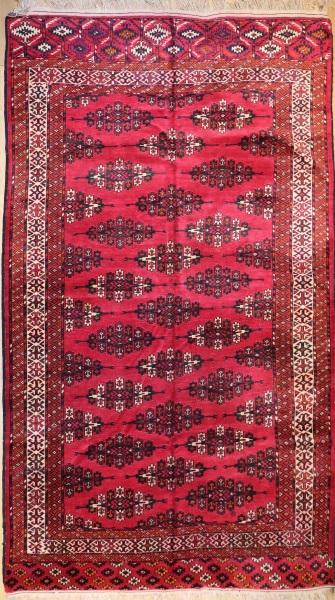 R5539 Vintage Turkmen Carpet