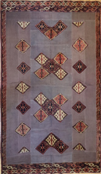 R3970 Yomut Carpet Patchwork