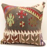 M413 Anatolian Kilim Cushion Cover