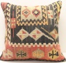 L590 Anatolian Kilim Cushion Cover