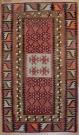 R5464 Antique Anatolian Kilim Rug