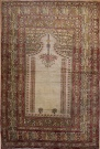R3846 Antique Bandirma Prayer Rug