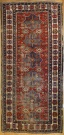 R4803 Antique Caucasian Akstafa Carpet