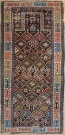 R9390 Antique Caucasian Akstafa Prayer Rug