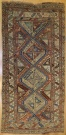 R1217 Antique Caucasian Carpet