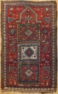 R6496 Antique Caucasian Kazak Rug