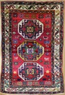 R9045 Antique Caucasian Kazak Rugs
