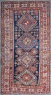 R4513 Antique Caucasian Shirvan Rug