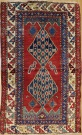 R7752 Antique Caucasian Shirvan Rug