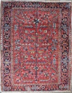 R6984 Antique Heriz Carpet