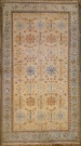 R7561 Antique Indian Dhurrie Kilim Rug