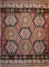 R6354 Antique Karakecili Kilim
