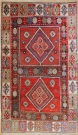 R7655 Antique Kazak Carpet