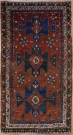 R2381 Antique Kazak Rug