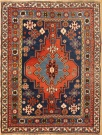 R2882 Antique Kazak Rug