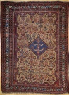 R5997 Antique Persian Afshar Rug