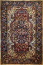 R9218 Antique Persian Heriz Carpet