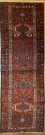 R9315 Antique Persian Heriz Carpet Runner