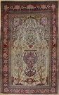 R8459 Antique Persian Isfahan Rug
