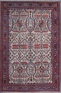 R7309 Antique Persian Joshagan Rug