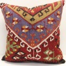 XL446 Antique Persian Kilim Cushion Cover