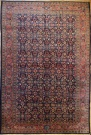 R7695 Antique Persian Mahal Carpet