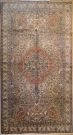 R3699 Antique Persian Tabriz Carpet