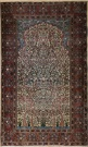 R7576 Antique Persian Tabriz Rug
