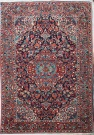R5309 Antique Persian  Sarouk Rug