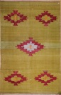 R3519 Antique Turkish Cal Kilim Rug