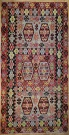 R7641 Antique Turkish Esme Kilim Rug
