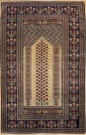 R3861 Antique Turkish Gordes Rug