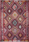 R6404 Antique Turkish Kilim