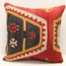 L686 Antique Turkish Kilim Cushion Covers