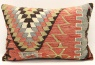 D218 Antique Turkish Kilim Pillow Cover