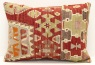 D224 Antique Turkish Kilim Pillow Cover