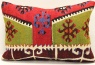 D235 Antique Turkish Kilim Pillow Cover