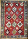 R8907 Antique Turkish Kilim Rug