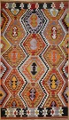 R8908 Antique Turkish Kilim Rug