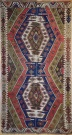 F1135 Antique Turkish Malatya Kilim Rug