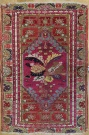 R3208 Antique Turkish Mujur Rug