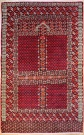 R7396 Antique Turkoman Ensi Rug