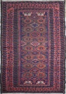 R1654 Beautiful Antique Persian Balouch Rug