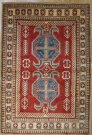 R8851 Beautiful Afghan Kazak Carpets