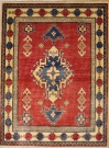 R8852 Beautiful Afghan Kazak Carpets