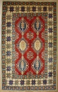 R8278 Beautiful Afghan Kazak Rugs
