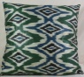 i87 Beautiful Silk Ikat Cushion Covers