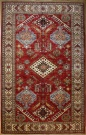 R8382 Decorative Handmade Kazak Carpets
