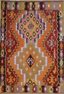 R9141 Flat Weave Turkish Kilim rugs