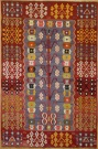 R9150 Flat Weave Turkish Kilim rugs